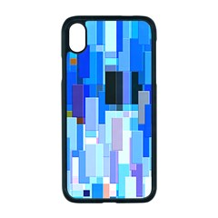 Color Colors Abstract Colorful Apple Iphone Xr Seamless Case (black)