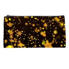 Background Black Blur Colorful Pencil Cases