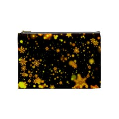 Background Black Blur Colorful Cosmetic Bag (medium) by Pakrebo