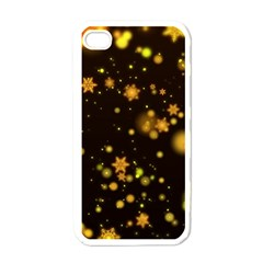 Background Black Blur Colorful Apple Iphone 4 Case (white)