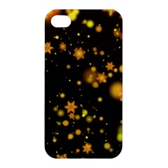 Background Black Blur Colorful Apple Iphone 4/4s Premium Hardshell Case