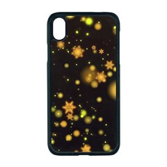 Background Black Blur Colorful Apple Iphone Xr Seamless Case (black)
