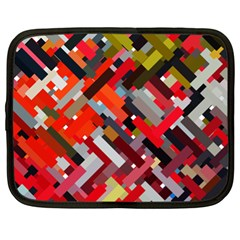 Maze Mazes Fabric Fabrics Color Netbook Case (xl) by Pakrebo