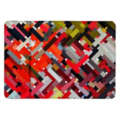 Maze Mazes Fabric Fabrics Color Samsung Galaxy Tab 8 9  P7300 Flip Case by Pakrebo