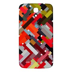 Maze Mazes Fabric Fabrics Color Samsung Galaxy Mega I9200 Hardshell Back Case