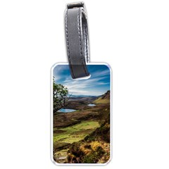 Landscape Quairaing Scotland Luggage Tags (two Sides)