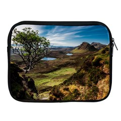 Landscape Quairaing Scotland Apple Ipad 2/3/4 Zipper Cases by Pakrebo