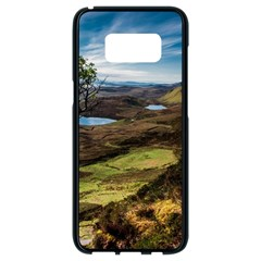 Landscape Quairaing Scotland Samsung Galaxy S8 Black Seamless Case by Pakrebo