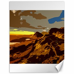 Scotland Monti Mountains Mountain Canvas 18  X 24