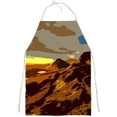 Scotland Monti Mountains Mountain Full Print Aprons