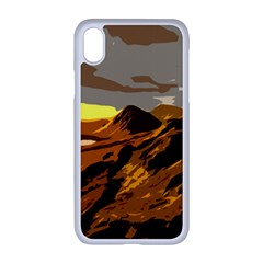 Scotland Monti Mountains Mountain Apple Iphone Xr Seamless Case (white)