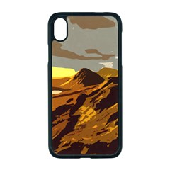 Scotland Monti Mountains Mountain Apple Iphone Xr Seamless Case (black) by Pakrebo