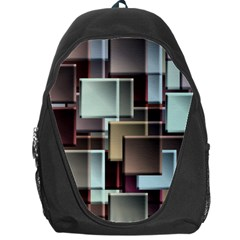 Texture Artwork Mural Murals Art Backpack Bag by Pakrebo
