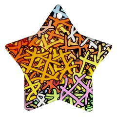 Color Colors Network Networks Ornament (star)