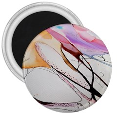 Art Painting Abstract Canvas 3  Magnets by Pakrebo