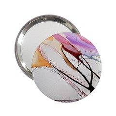 Art Painting Abstract Canvas 2 25  Handbag Mirrors by Pakrebo