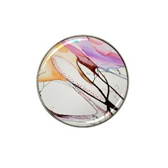Art Painting Abstract Canvas Hat Clip Ball Marker