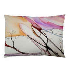 Art Painting Abstract Canvas Pillow Case (two Sides) by Pakrebo