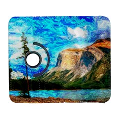 Painting Paintings Mountain Samsung Galaxy S  Iii Flip 360 Case by Pakrebo