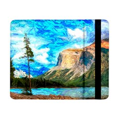 Painting Paintings Mountain Samsung Galaxy Tab Pro 8 4  Flip Case by Pakrebo