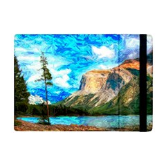 Painting Paintings Mountain Ipad Mini 2 Flip Cases by Pakrebo