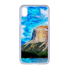 Painting Paintings Mountain Apple Iphone Xr Seamless Case (white)