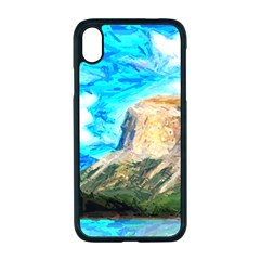 Painting Paintings Mountain Apple Iphone Xr Seamless Case (black) by Pakrebo
