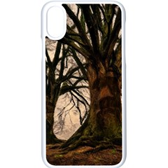 Ent Treant Trees Tree Bark Barks Apple Iphone X Seamless Case (white)