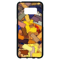 Texture Painting Plot Graffiti Samsung Galaxy S8 Black Seamless Case