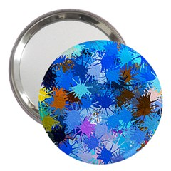 Color Colors Abstract Colorful 3  Handbag Mirrors