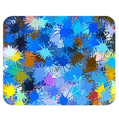Color Colors Abstract Colorful Double Sided Flano Blanket (medium)