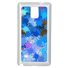 Color Colors Abstract Colorful Samsung Galaxy Note 4 Case (white)