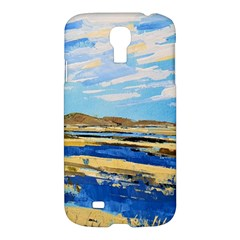The Landscape Water Blue Painting Samsung Galaxy S4 I9500/i9505 Hardshell Case