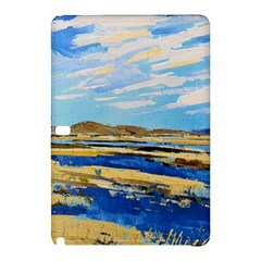 The Landscape Water Blue Painting Samsung Galaxy Tab Pro 10 1 Hardshell Case by Pakrebo