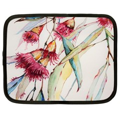 Plant Nature Flowers Foliage Netbook Case (xl) by Pakrebo