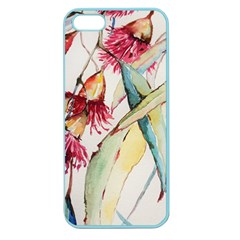 Plant Nature Flowers Foliage Apple Seamless Iphone 5 Case (color) by Pakrebo