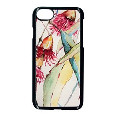 Plant Nature Flowers Foliage Apple Iphone 7 Seamless Case (black) by Pakrebo