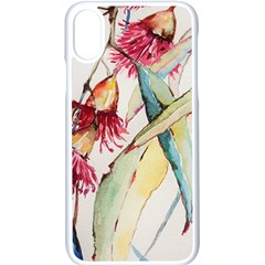 Plant Nature Flowers Foliage Apple Iphone X Seamless Case (white)
