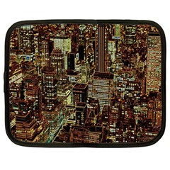 New York City Skyscrapers Netbook Case (large)