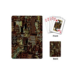 New York City Skyscrapers Playing Cards (mini) by Pakrebo