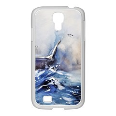 Art Painting Sea Storm Seagull Samsung Galaxy S4 I9500/ I9505 Case (white)