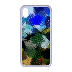 Texture Color Colors Network Apple Iphone Xr Seamless Case (white)