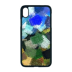 Texture Color Colors Network Apple Iphone Xr Seamless Case (black)