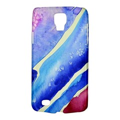 Painting Abstract Blue Pink Spots Samsung Galaxy S4 Active (i9295) Hardshell Case