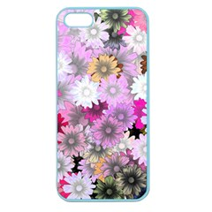 Flower Flowers Carta Da Parati Apple Seamless Iphone 5 Case (color)
