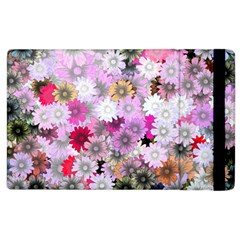 Flower Flowers Carta Da Parati Apple Ipad 3/4 Flip Case