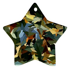 Fantasia Fantasie Color Colors Star Ornament (two Sides)