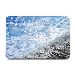 Coast Beach Shell Conch Water Small Doormat