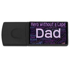 Dad! Rectangular Usb Flash Drive by TimelessDesigns