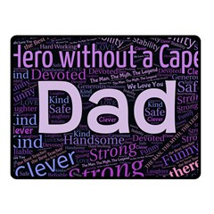 Dad! Fleece Blanket (small)